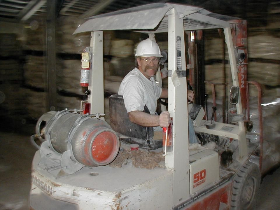 Picture 2, forklift operator: