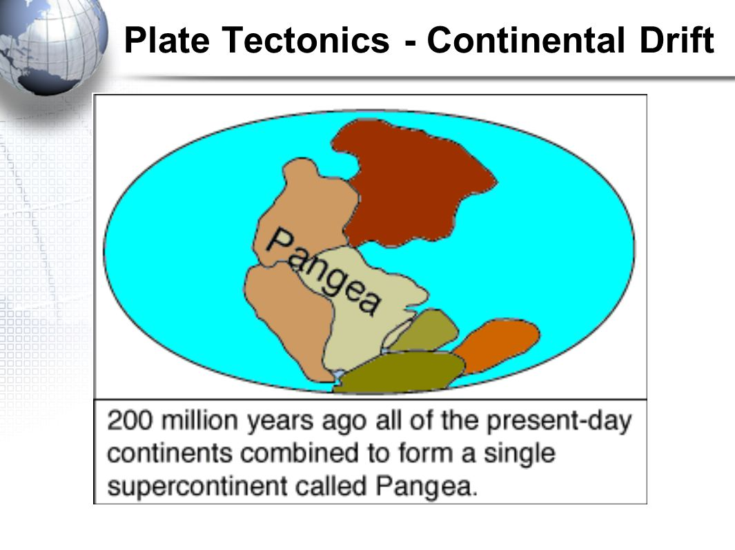 an overview of the theories explaining the plate tectonics of the earth Plate tectonic theory and the unification of the earth sciences overview it took nearly a century for scientists to accept the idea that continents were not forever fixed in their places, but had, in fact, slowly drifted to their current locations.