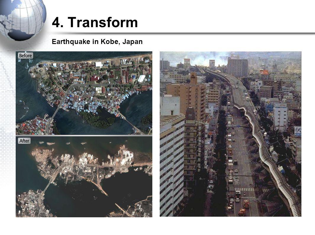 4. Transform Earthquake in Kobe, Japan