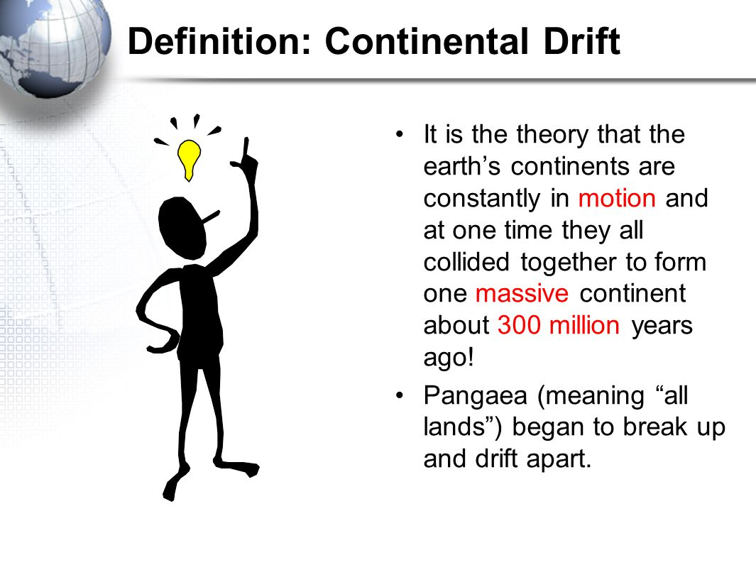 Definition: Continental Drift