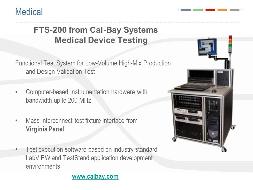 FTS-200 from Cal-Bay Systems Medical Device Testing