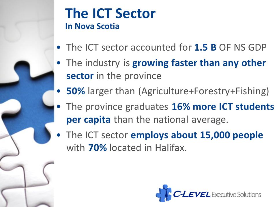 The ICT Sector In Nova Scotia