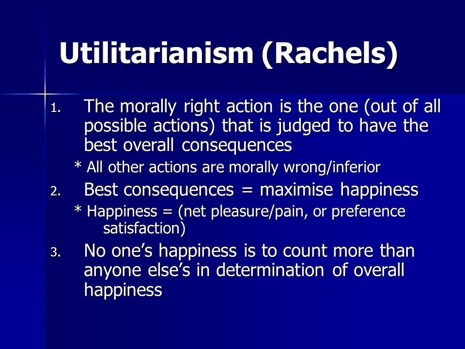 Utilitarianism (Rachels)