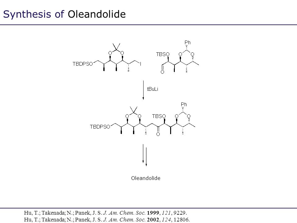 Synthesis of Oleandolide