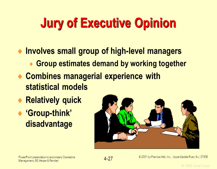 Jury of Executive Opinion