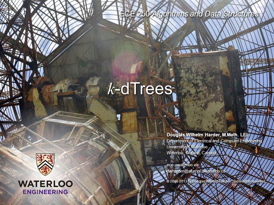 k-dTrees