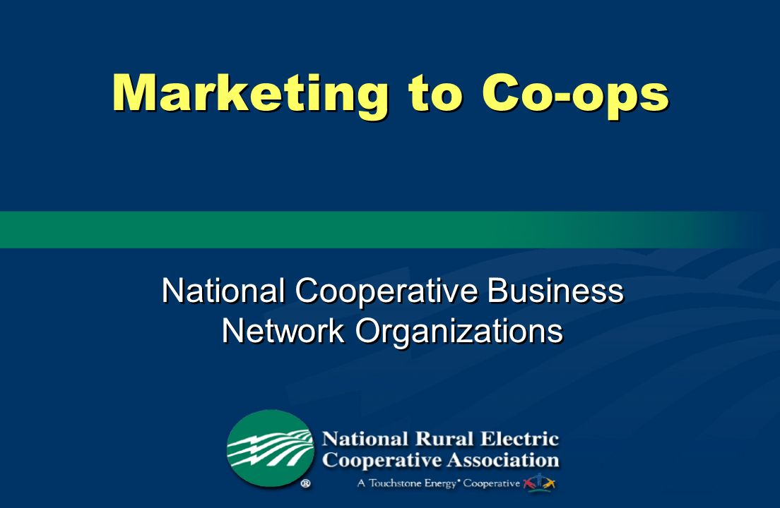 National Cooperative Business Network Organizations