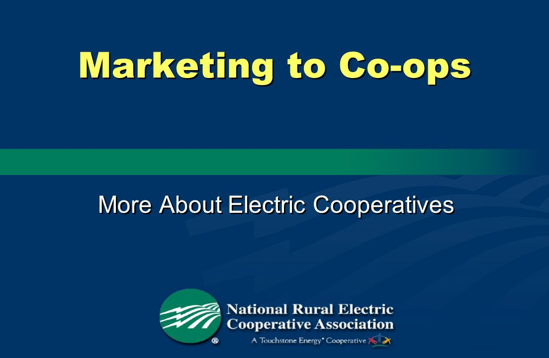 More About Electric Cooperatives