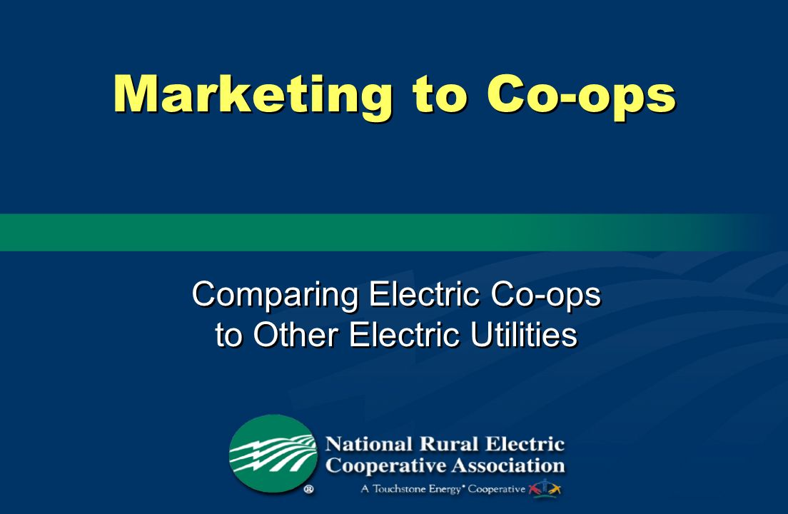 Comparing Electric Co-ops to Other Electric Utilities