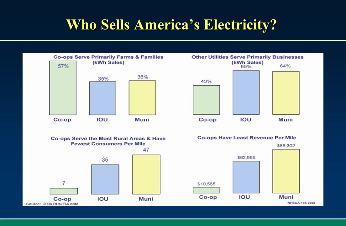 Who Sells America's Electricity