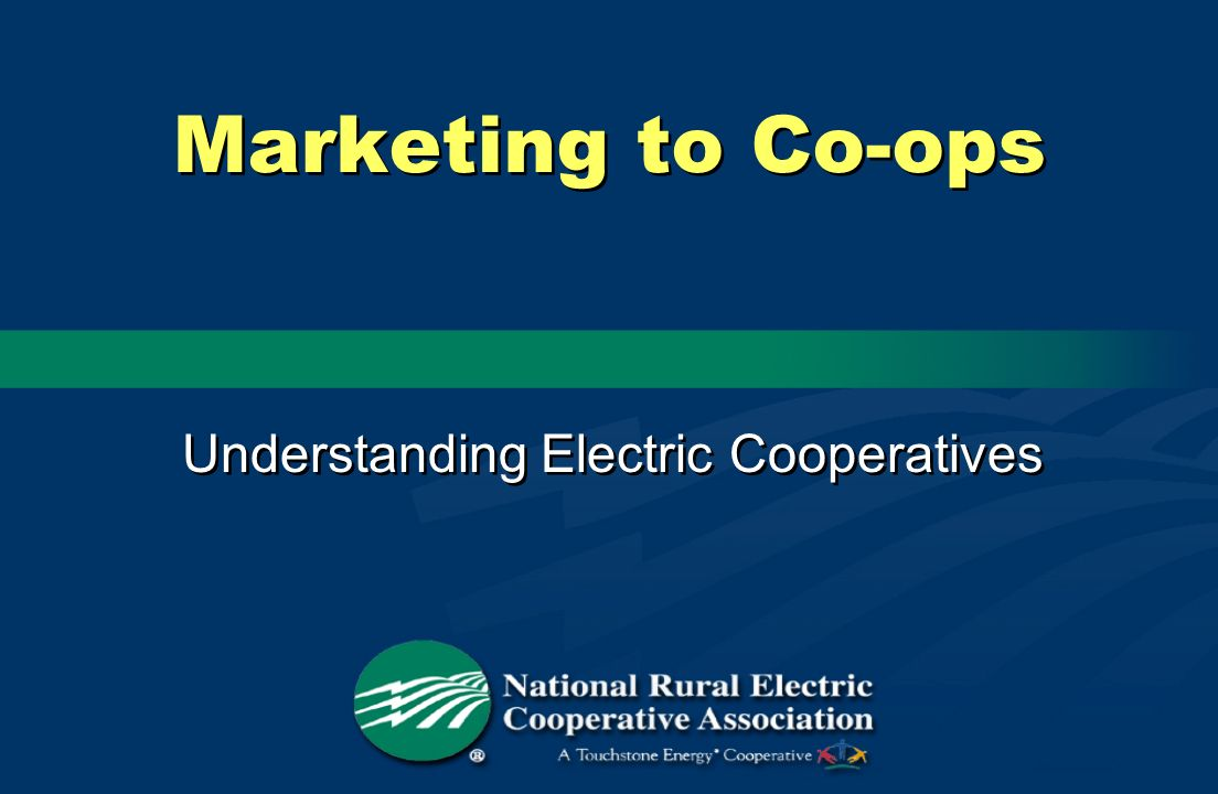 Understanding Electric Cooperatives