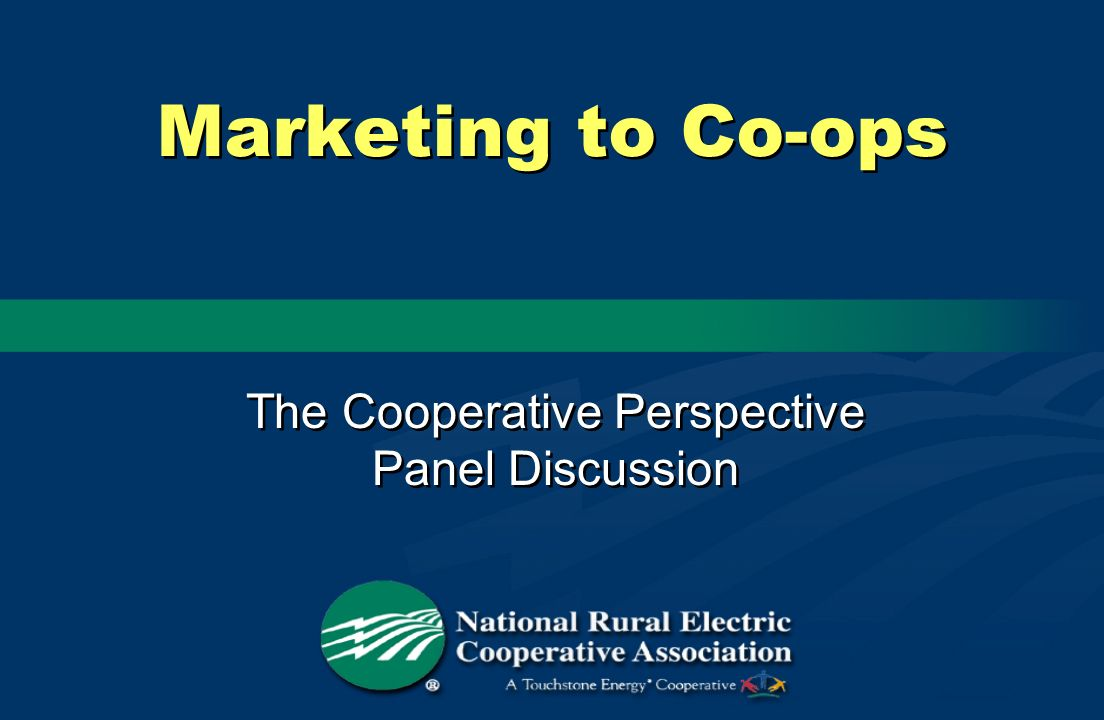 The Cooperative Perspective Panel Discussion