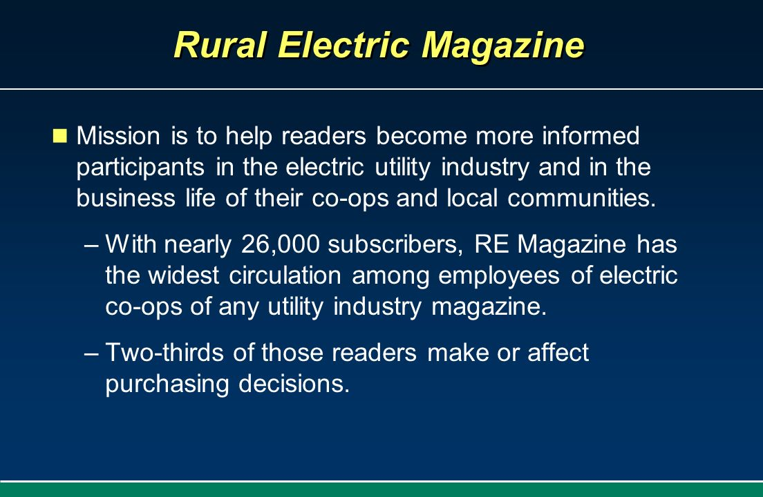 Rural Electric Magazine