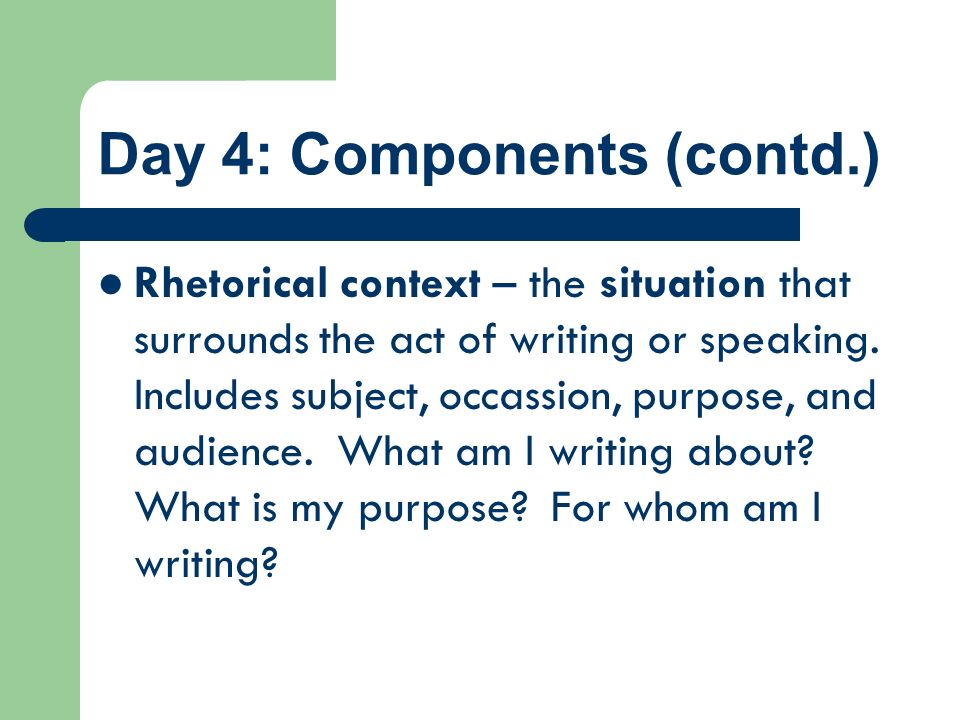 Day 4: Components (contd.)
