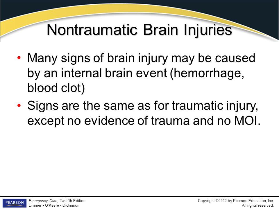 Nontraumatic Brain Injuries