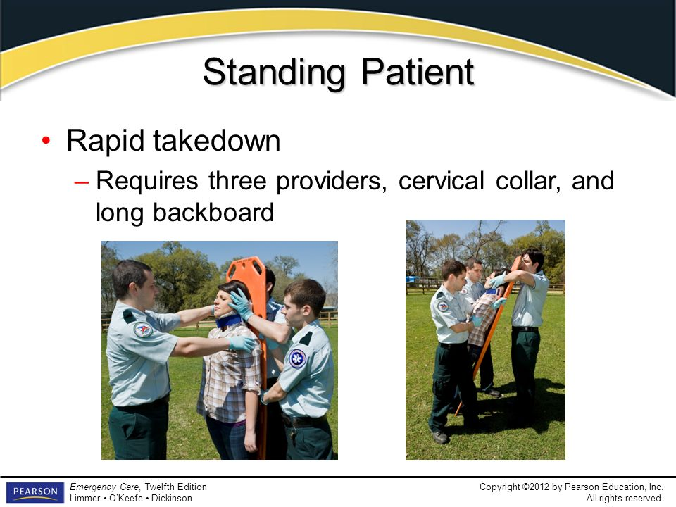 Standing Patient Rapid takedown