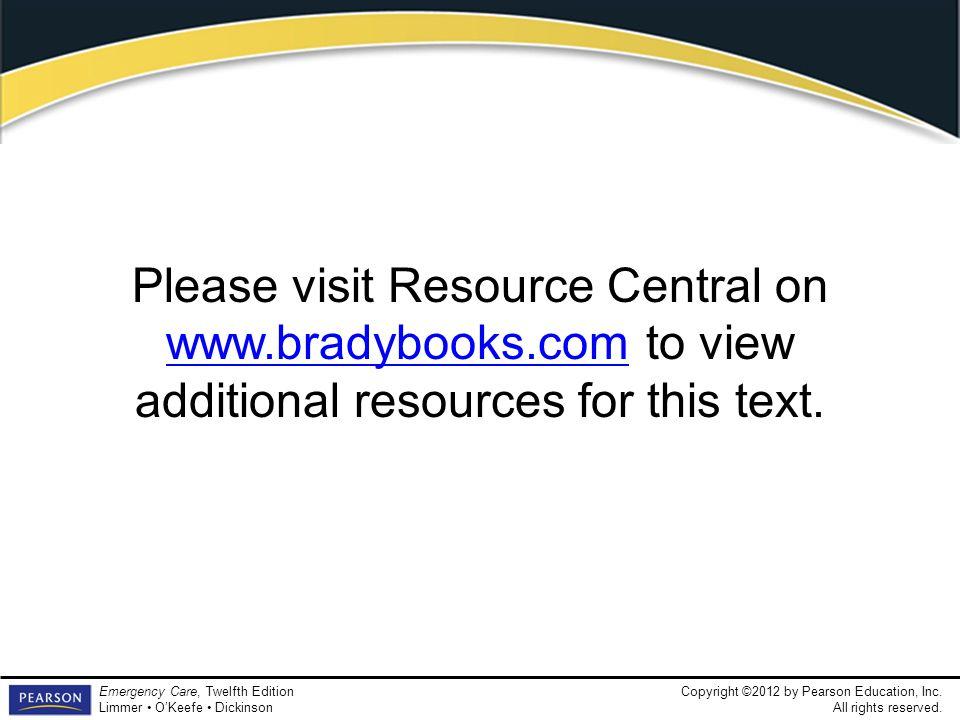 Please visit Resource Central on www. bradybooks