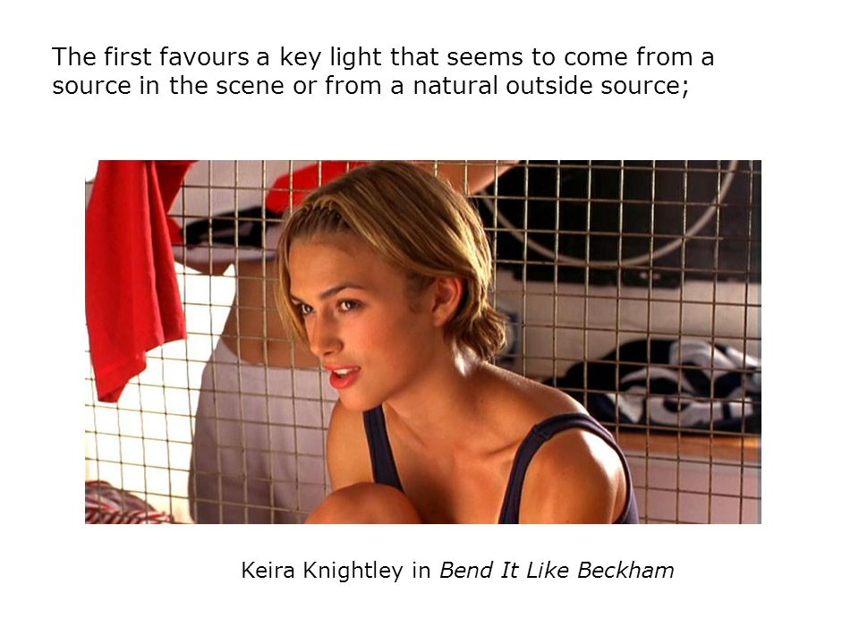 Keira Knightley in Bend It Like Beckham