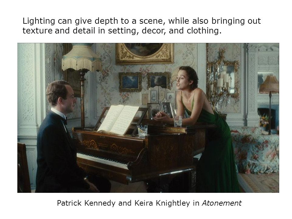 Patrick Kennedy and Keira Knightley in Atonement