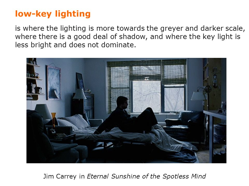 Jim Carrey in Eternal Sunshine of the Spotless Mind