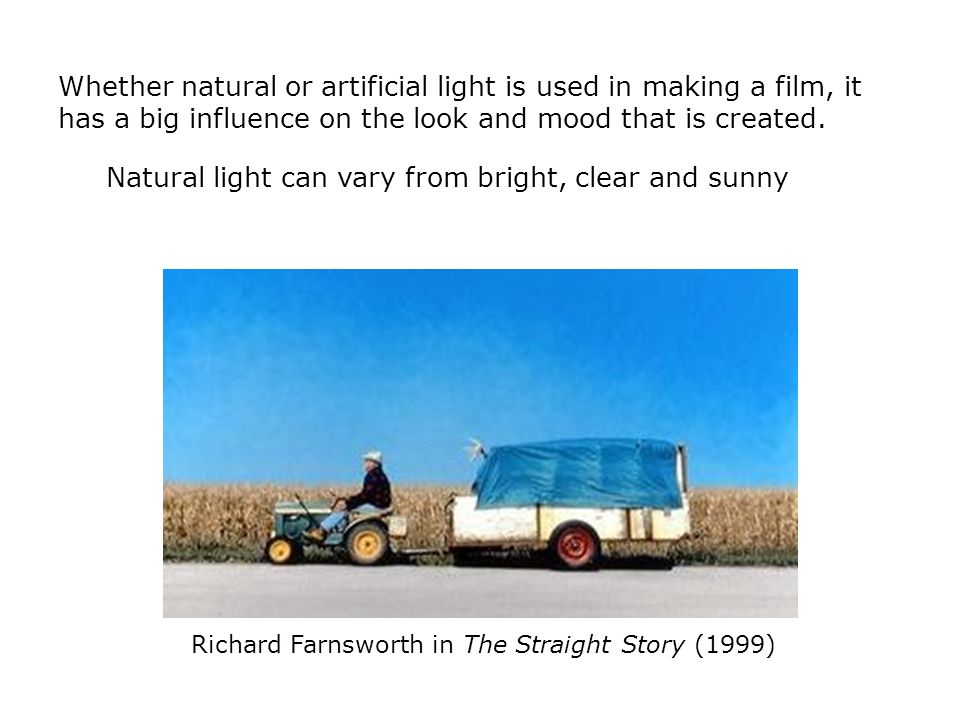 Richard Farnsworth in The Straight Story (1999)