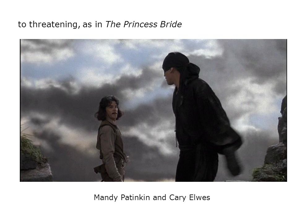 Mandy Patinkin and Cary Elwes