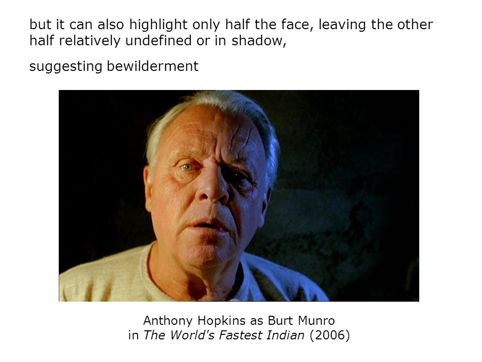 Anthony Hopkins as Burt Munro in The World s Fastest Indian (2006)