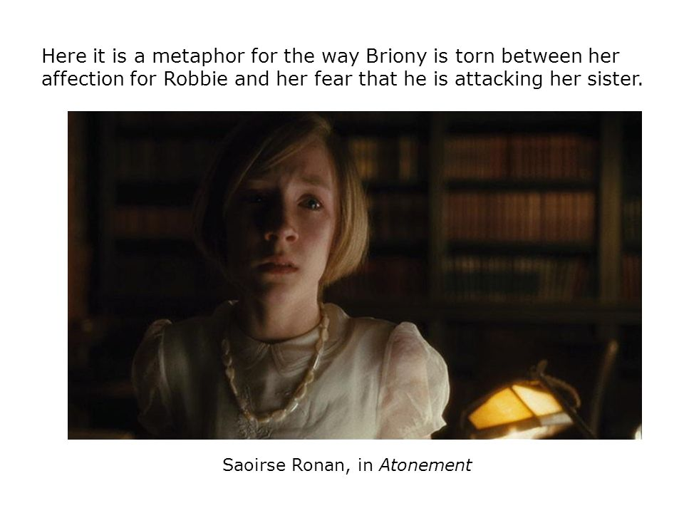 Saoirse Ronan, in Atonement