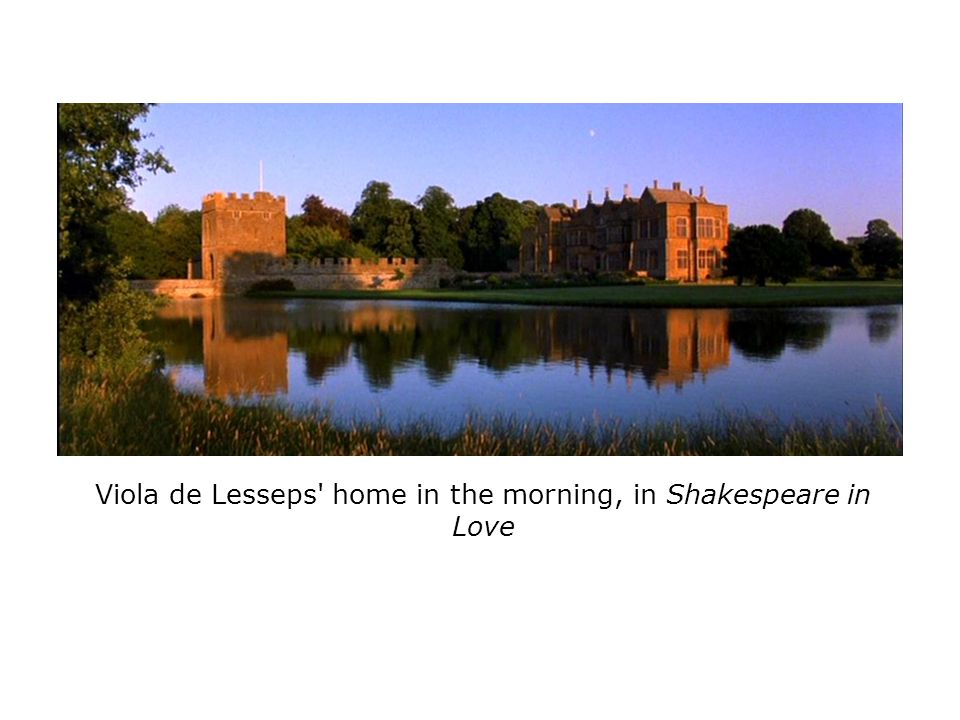 Viola de Lesseps home in the morning, in Shakespeare in Love