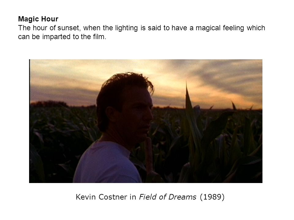 Kevin Costner in Field of Dreams (1989)