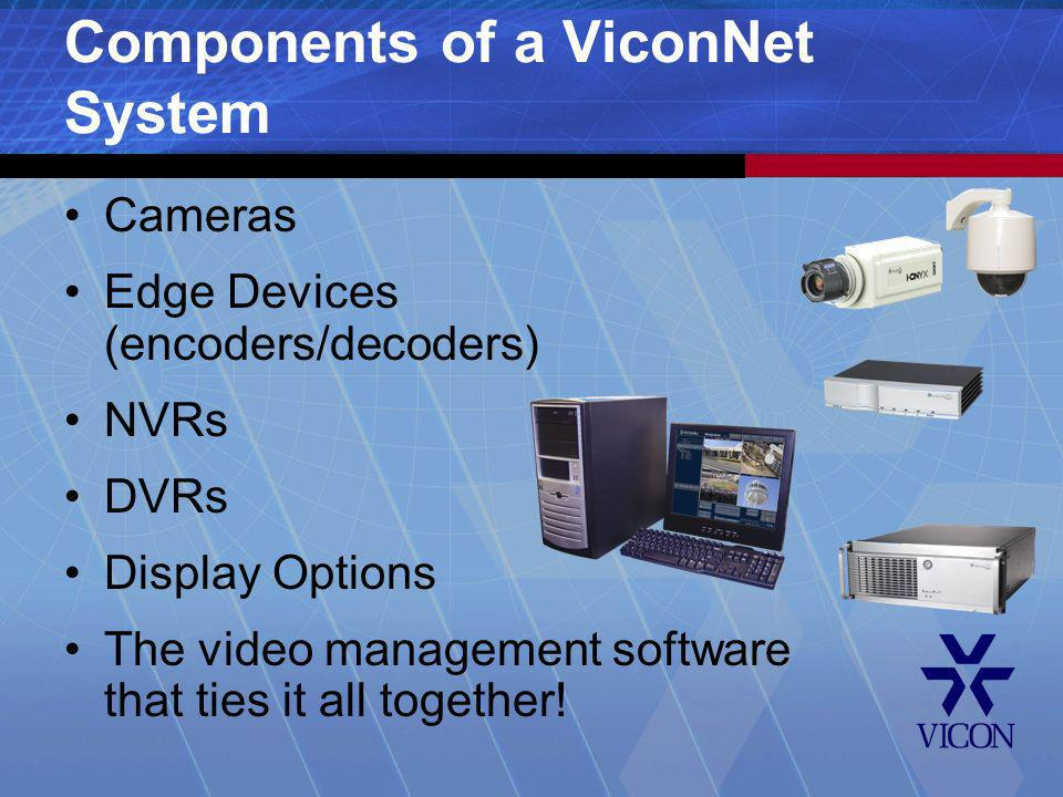 Components of a ViconNet System