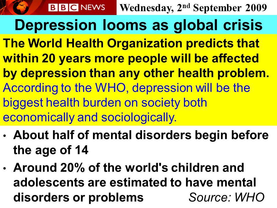 Depression looms as global crisis