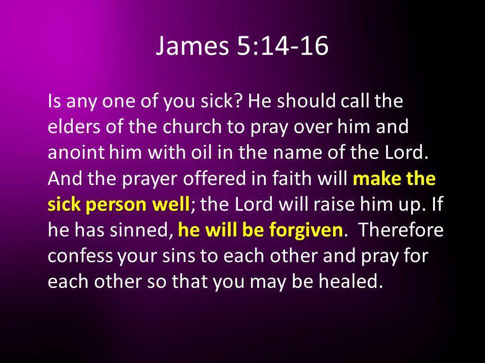 James 5:14-16