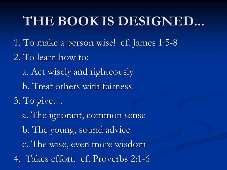 THE BOOK IS DESIGNED...