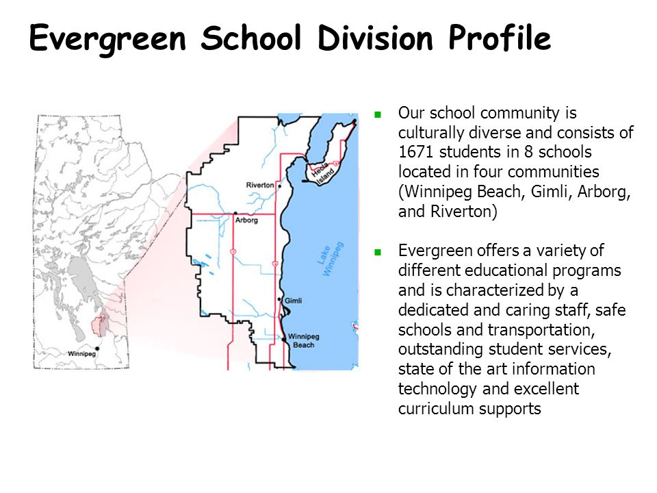 Evergreen School Division Profile