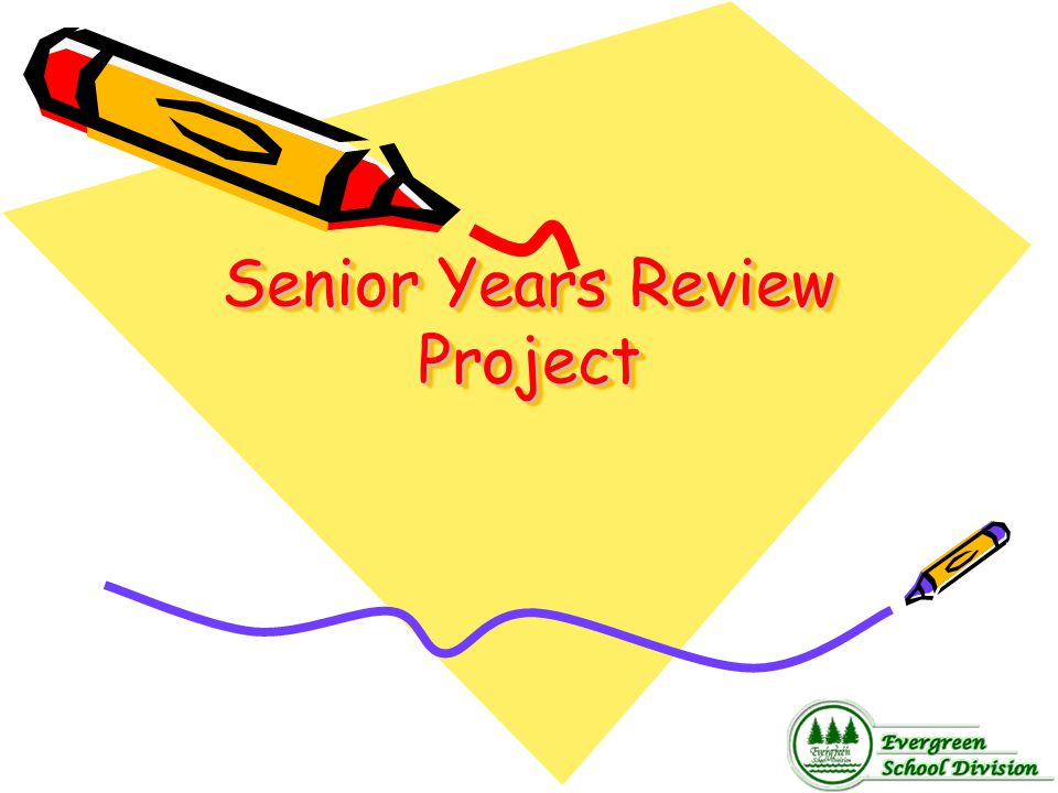 Senior Years Review Project