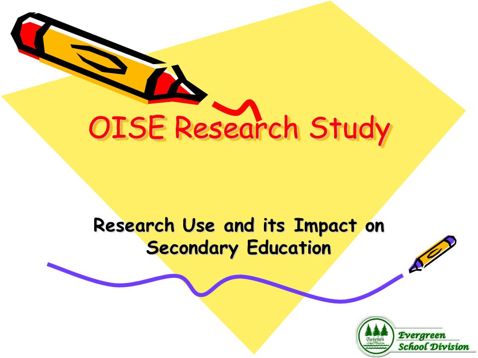 Research Use and its Impact on Secondary Education