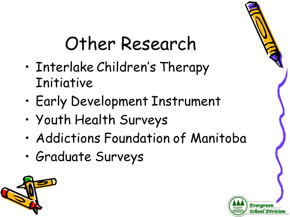 Other Research Interlake Children's Therapy Initiative