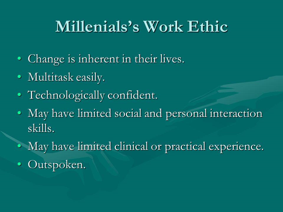 Millenials's Work Ethic