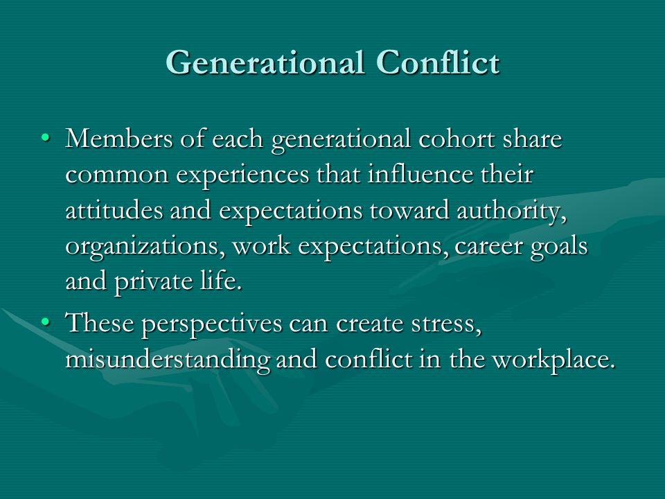 Generational Conflict