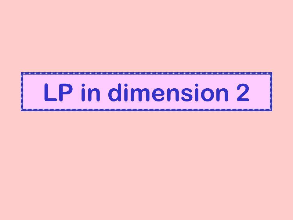 LP in dimension 2