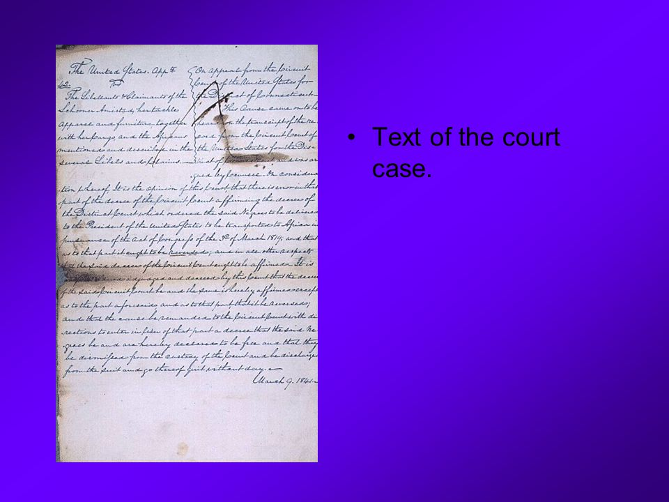 Text of the court case.