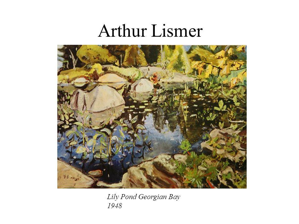 Arthur Lismer Lily Pond Georgian Bay 1948