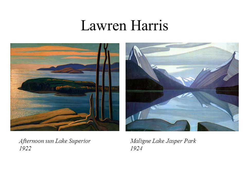 Lawren Harris Afternoon sun Lake Superior 1922