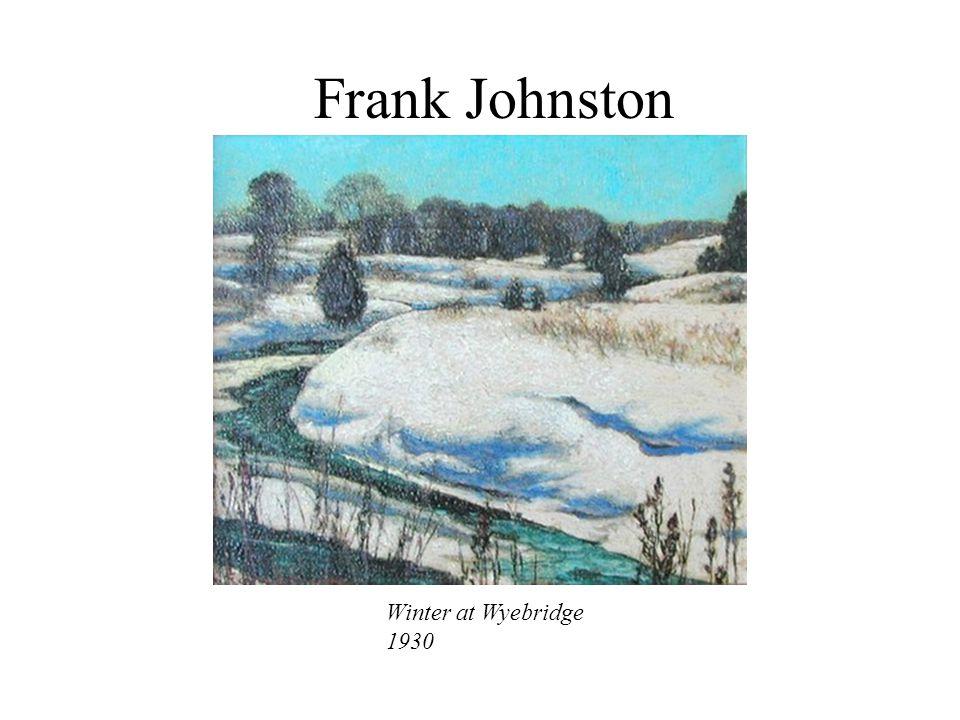 Frank Johnston Winter at Wyebridge 1930