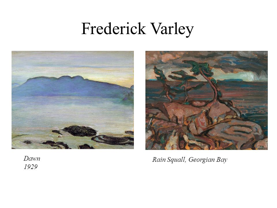 Frederick Varley Dawn Rain Squall, Georgian Bay 1929