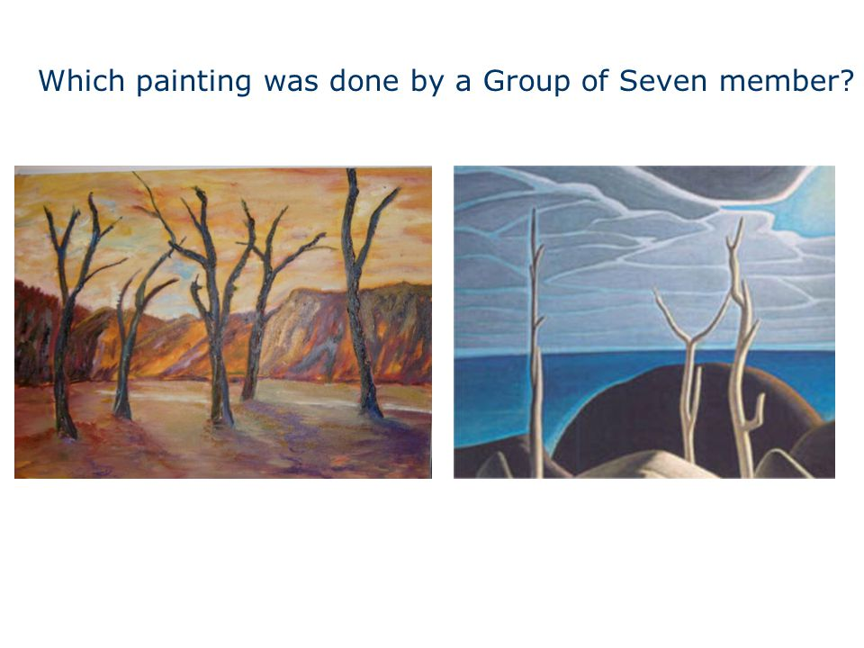 Which painting was done by a Group of Seven member