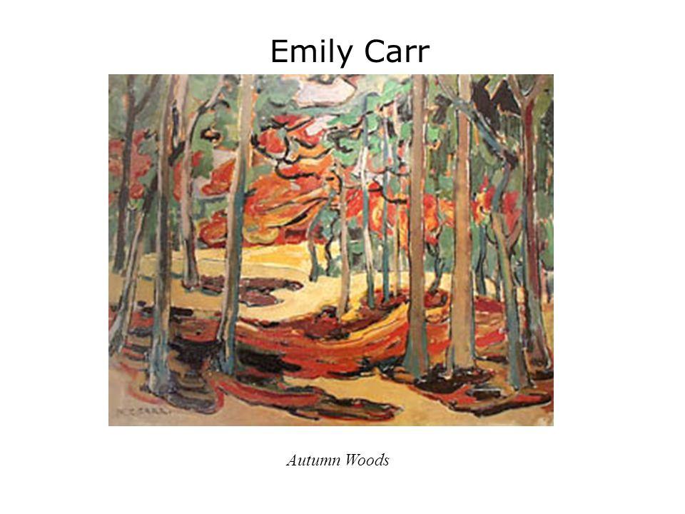 Emily Carr Autumn Woods