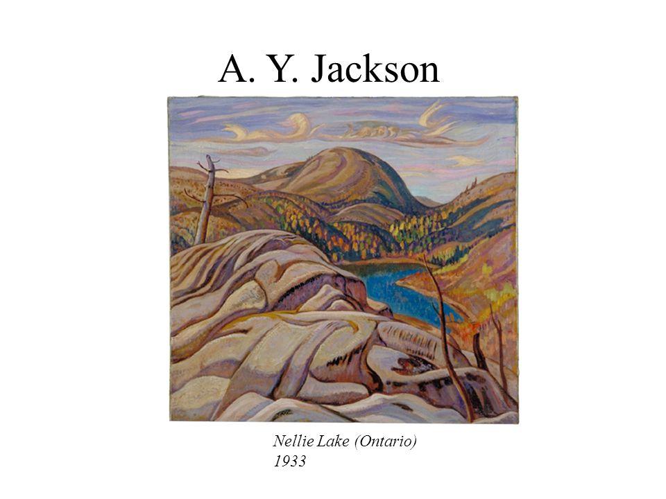 A. Y. Jackson Nellie Lake (Ontario) 1933