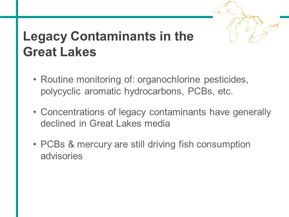 Legacy Contaminants in the Great Lakes